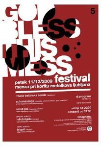 God bless this mess festival: Ko Prekmurje zasede Ljubljano
