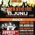 V sredini meseca junija, natančneje 15. junija, bo Ljubljana dočakala prvo pravo glasbeno invazijo rock glasbe. Rock Music Fest Slovenia se bo od poznega popoldneva dalje odvijal na dveh odrih na zunanjem delu Gospodarskega razstavišča.