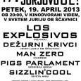 Lokalni rockerski podmladek s podporo uveljavljenih Dežurnih krivcev v petek vabi na že 17. tradicionalni rock fest Jürjovo je!
