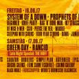 Avstrijski Nova Rock festival, ki bo potekal med 14. in 17. junijem, je objavil imena po dnevih, takole vas bodo zabavali bendi: Sreda, 14. 06. 2017 Linkin Park Fatboy Slim […]