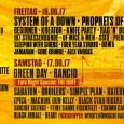 Družbo velikim imenom, kot so  Green Day, Linkin Park in System of a Down bodo na festivalu Nova Rock delali tudi Kreator,  popularna nemška thrash metal skupina iz Essna ter legendarna ameriška crossover zasedba Suicidal Tendencies