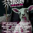 Na Brutal Assault 2018 prihajajo tudi Testament, Gojira, Suicidal Tendencies, Pain in Brujeria.