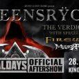 28. julija bodo v Ljubljani nastopili Queensryche.