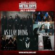 Na naslednji MetalDays prihajajo metalcore velikani As I Lay Dying, najavili so tudi stoner rockerje Clutch, Jinjer, Orbit Culture, Voices ter Rome. Karte: https://giggome.com/gigshow/500-metaldays-festival-2020 Več informacij: https://www.metaldays.net/ Povezani članki:V Tolmin […]