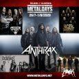 Prvič po letu 2005 se v Tolmin vračajo thrash metal veterani Anthrax. Festival je potrdil tudi nizozemske metal legende Asphyx, Nemce Desaster, thrash metalce Havok ter zasedbo Year of the […]